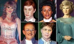 The anonymous purchaser is now the proud owner of more than 150 mis-shapen models of celebrities from the Louis Tussauds House of Wax museum in Great Yarmouth, Norfolk.