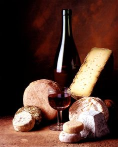 Wine and cheese...the most beautiful pairing in the world (besides wine and dark chocolate).