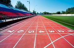 """Track Time: best types of track workouts.  Also idea for """"Mile Trial"""".  Have kids complete  a mile run at the beginning and end of season to see their improvement"""