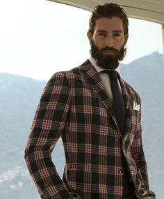 Beard in a jacket!
