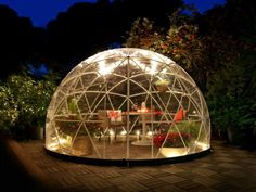 This Garden Igloo is amazing and I want it. That's all.