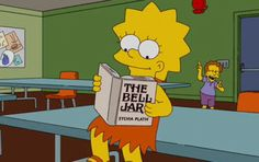Here are some of the best literary references from The Simpsons.