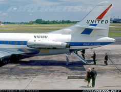 United Airlines Sud Aviation SE-120 Caravelle