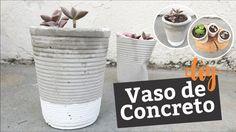 DIY: Vaso de concret