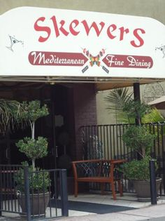 Skewers offers lunch and dinner menus, featuring authentic flavors from the Mediterranean region, a full bar and relaxing hookah gardens. 906 J St. Modesto 209.525.3611
