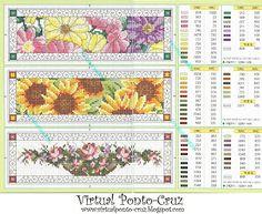 Virtual Ponto-Cruz: Gráficos - Flores