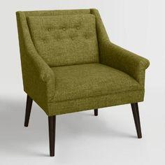 Linen Blend Naveen Upholstered Chair