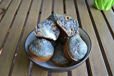 Jalapeno Cheddar Blue Corn Muffins - A fun way to make muffins!