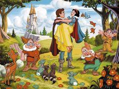 Disney snow white Wedding cake | elenco-film-disney-biancaneve-e-i-sette-nani.jpg