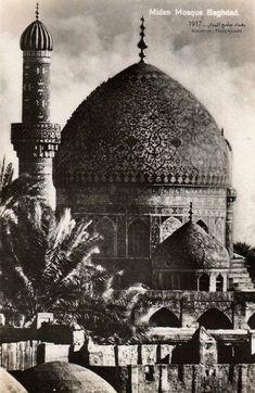 بغداد جامع الميدان عام 1917