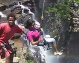 Can you do the free fall at Neelom, Wayanad?   All credits to India First!  #HappyTrelling