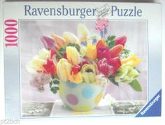 Tulip Greetings Ravensburger Jigsaw Puzzle 1000 Pieces New Sealed http://cgi.ebay.com/ws/eBayISAPI.dll?ViewItem&item=261338808455