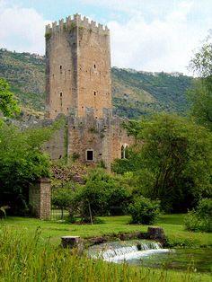Caetani's Castle and the Gardens of Ninfa - Lazio, Italy - Photo by Andrea Marutti on Flickr