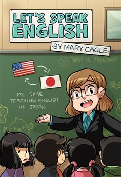 A book collecting the entire run of Let's Speak English, about my adventures teaching English in rural japan! Featuring bonus stories and commentary on every st