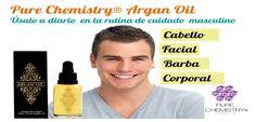 Nuestro aceite de argán es apto para cuidado masculino