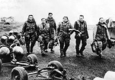 Major Josef Horák while with 311 Squadron. he is first on the left. Catholic Priest, Never Again, Paratrooper, Ww2, Monster Trucks, Military, History, Soldiers, Pictures