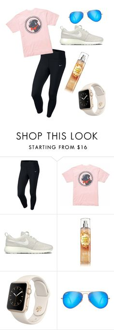 """""""GO FOLLOW @mae343"""" by lilly1345 ❤ liked on Polyvore featuring NIKE, Southern Proper, Apple, Ray-Ban, outfit, comfy and polyvorefashion"""
