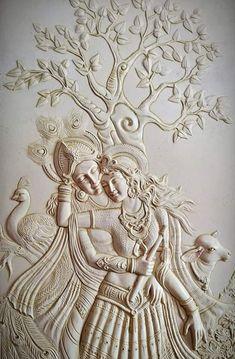 indian paintings on wood Paintings - Hobbies paining body for kids and adult Indian Paintings, Sculpture Art, Mural Art Design, Mural Art, Peacock Wall Art, Mural Wall Art, Art, Plaster Art, Plaster Wall Art