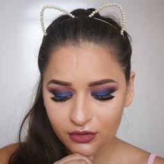 Tutorial que postei ontem de noite. Desculpa mas sou xonada nesses tons de maquiagem. Vocês também curtem essa vibe de azuis e roxos? Podem dizer que tô de olho inchado não tô nem aí! O batom é o collan marsala da @dailuscolor Volta aqui no perfil pra ver o vídeo completo maaaana.  #maquiagem #maquiagemx #universodamaquiagem_oficial #pausaparafeminices #beleza #makeup #makeupartist #makeupaddict #makeupmurah #makeupforever #makeupartistsworldwide #beautyblogger #hudabeauty #amrezy #vegas_nay…