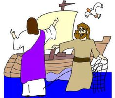 Jesus Walks on Water children's version Bible story