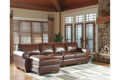 Saddle Lugoro 3-Piece Sectional View 1