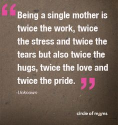 Top 25 Single Moms - 2012 Check out our Top 25 Single Moms to read about the about the special rewards and challenges moms face when raising children on their own.