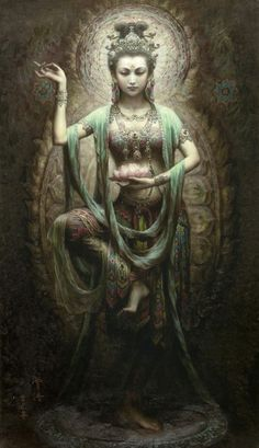 the lotus queen/she is infinite/she is balance