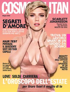 Preview: la cover star del numero di giugno 2016 di Cosmopolitan è Scarlett Johansson! Saremo in edicola a partire da lunedì 23 maggio, formato digitale in anteprima dalle ore 18:00 di sabato 21 maggio. Tutte le info qui: http://www.cosmopolitan.it/lifestyle/news/a113562/cosmopolitan-giugno-2016-digitale/