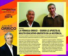 cambiemos concepción del uruguay: Ruiz Orrico y Osorio proponen el Boleto Educativo ...