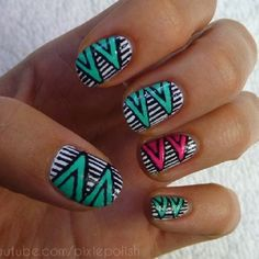 I wish I had the time & patience to do this to my nails! Super cuteee