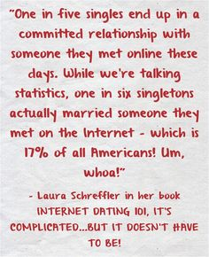 "From the book ""Internet Dating 101"" available at www.NewChapterMedia.com and where books are sold"