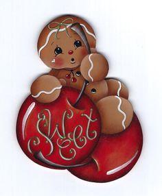 Sweet Cherries Gingerbread Painting E-Pattern by GingerbreadCuties