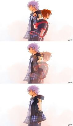 Ugh, my heart hurts so much 😔 Kingdom Hearts 3, Kingdom Hearts Wallpaper, Kingdom Hearts Characters, Kh 3, Shall We Date, Vanitas, Final Fantasy, Art Blog, Game Art