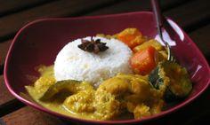 Mon curry de poulet au coco (et toutes les infos que tu n'avais pas demandées sur ma cure de détox printanière)
