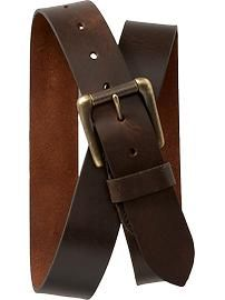 Men's Brown Belts from Old Navy