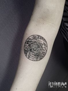 Hobbit Tattoo #hobbit #tattoo #blackwork