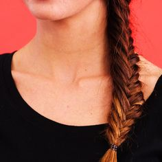 Learn how to do a fishtail braid—it's a lot simpler than you may believe.