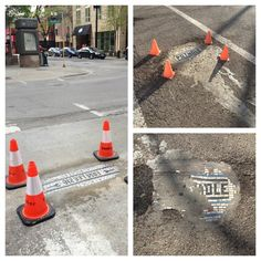 Chicago Potholes: Craftivism in Action