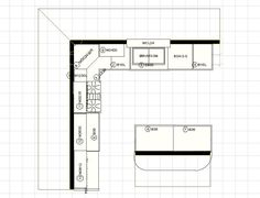 u shaped kitchens floor plans moreover small kitchen design furthermore Cool Floor Plan additionally home addition shelbyville indiana moreover Shopfitting and Refurbishment. on remodeling small kitchen layouts design