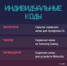 Мобильный LiveInternet Секретные коды для доступа к скрытым функциям телефона   О_Самом_Интересном - Все самое интересное  