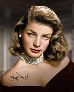 Lauren Bacall  leos look like royalty and cat like