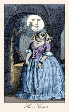 Fantastic Menagerie Tarot The Moon
