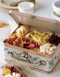 Adorable box of snacks