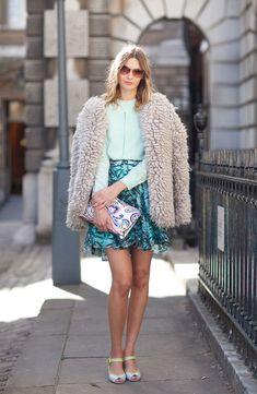 Street Style Spring 2013 - London Fashion Week Street Style - Harper's BAZAAR
