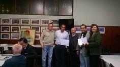 El jueves 22 de octubre se hizo entrega del pin, del diploma y del estatuto a los nuevos socios del Cas: Jorge Martínez Mollard, Ana Verónica Carvallo y Vicente Suárez de Figueroa. ¡Bienvenidos!