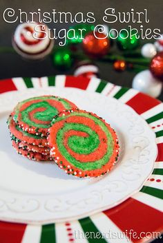 christmas swirl sugar cookies easy festive holiday cookies that are perfect for a - Creative Christmas Cookies