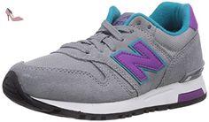 New Balance 565, Damen Sneakers, Grau (Grey/Purple), 36.5 EU (4 UK) - Chaussures new balance (*Partner-Link)
