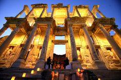 Ephesus at Night