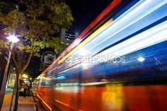 Bus passing by — Stock Photo © Overcome #72250841