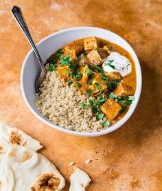 Tofu au beurre | Recettes d'ici Tofu Recipes, Asian Recipes, Vegetarian Recipes, Plats Healthy, Vegan Fish, Healthy Eating Tips, Special Recipes, Vegan Foods, Food Hacks